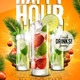 Drink Promotion Flyer Template A5 - GraphicRiver Item for Sale