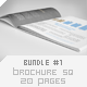 Brochure Square 20 Pages Bundle #1 - GraphicRiver Item for Sale