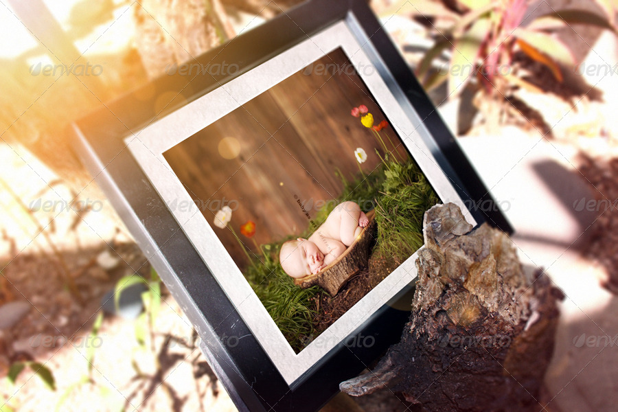 Photo Frames Mockup V1