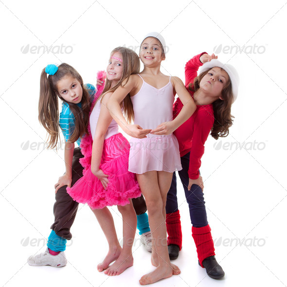 PhotoDune kids dance school 4065362