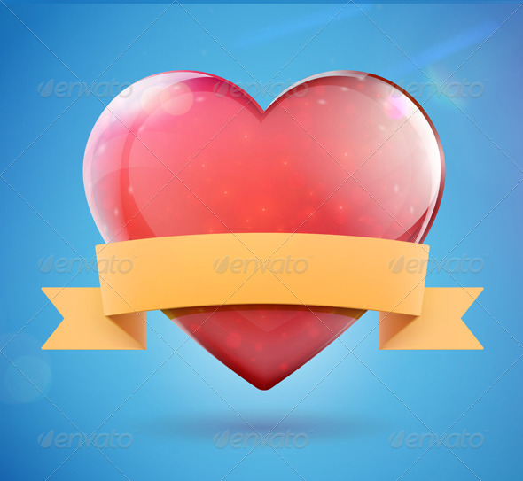 GraphicRiver Heart Shape 4065188