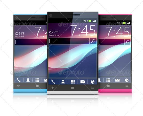 GraphicRiver Modern Cellphone 4065190