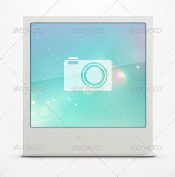 GraphicRiver Polaroid Photo Frame 4065202