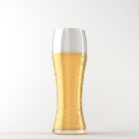 3DOcean Professional Beer Glass Studio 4065476