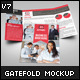 Gate Fold Brochure Mock-Up - GraphicRiver Item for Sale