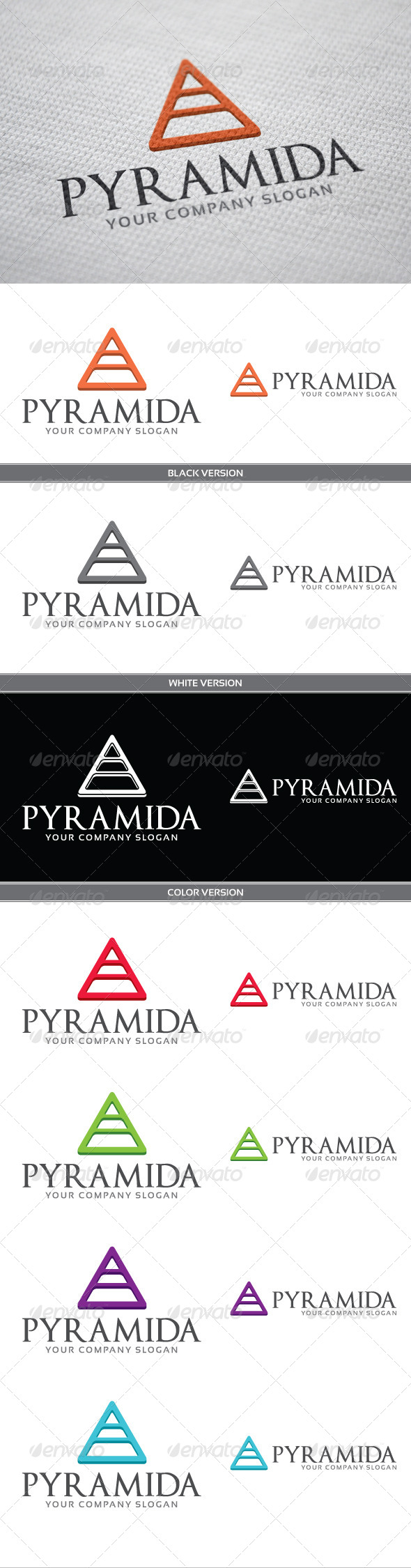GraphicRiver Pyramida 4065854