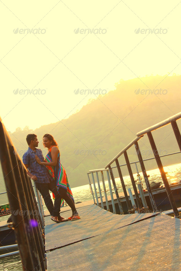 Young Couple - Stock Photo - Images