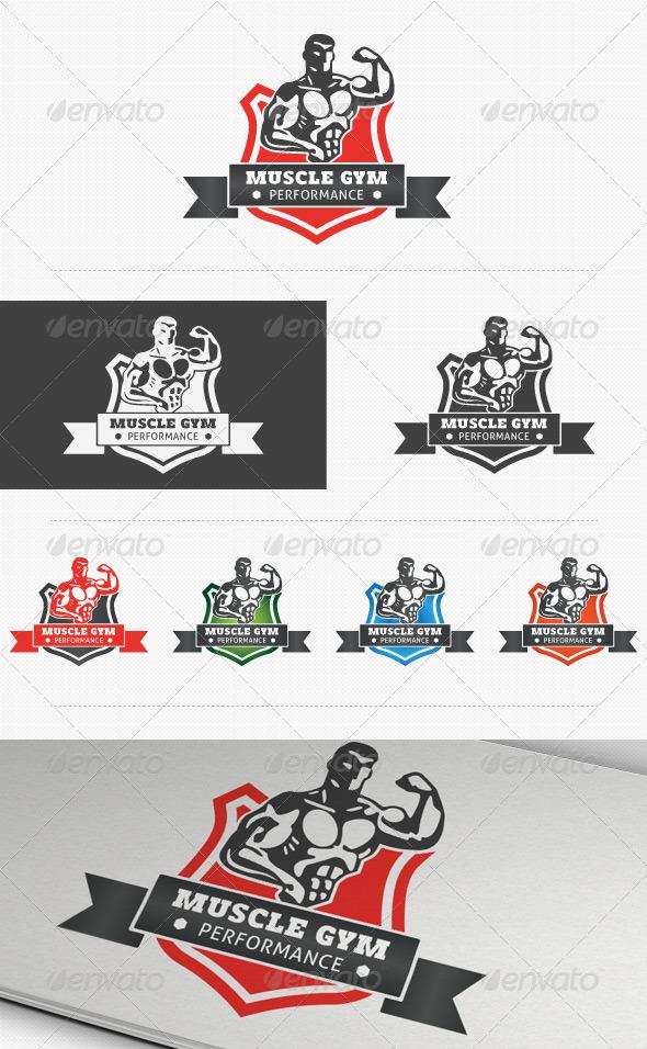 GraphicRiver Fitness Performance Gym Logo 3864698