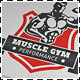 Fitness Performance Gym Logo