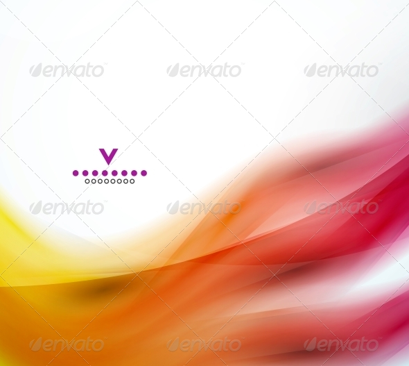 GraphicRiver Abstract Wave Design Template 4066239
