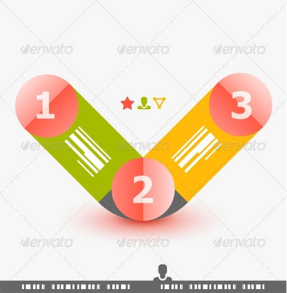 GraphicRiver Numbered Banner Design Template 4066301