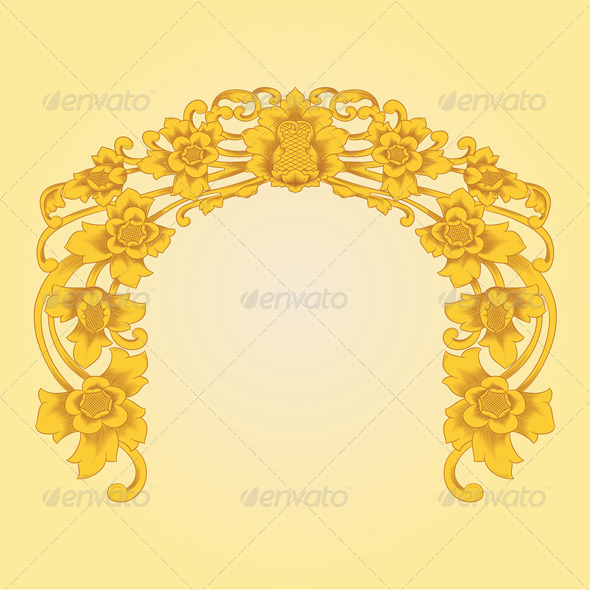 GraphicRiver Flower Ornament 4066449