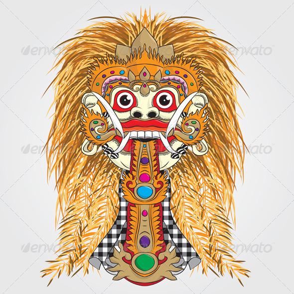 GraphicRiver Rangda Bali 4066456