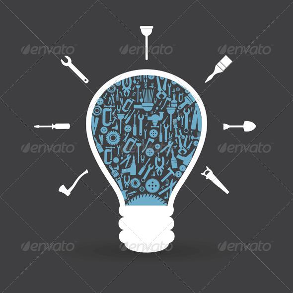 Tool Bulb - Miscellaneous Vectors