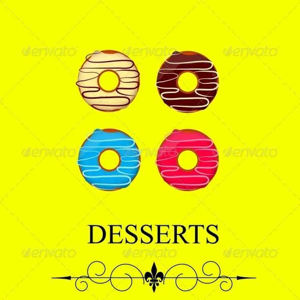 GraphicRiver Vector Dessert Menu 4067270