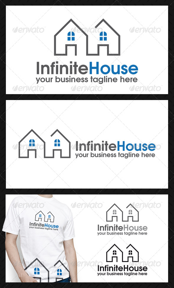 Infinite House Logo Template