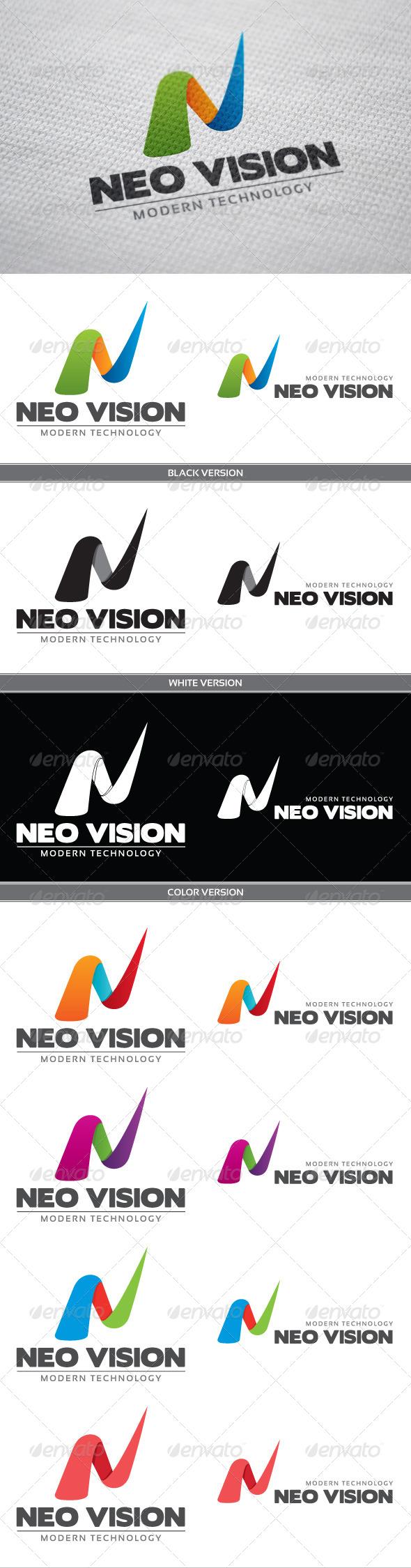 GraphicRiver Neo Vision Logo 3887903