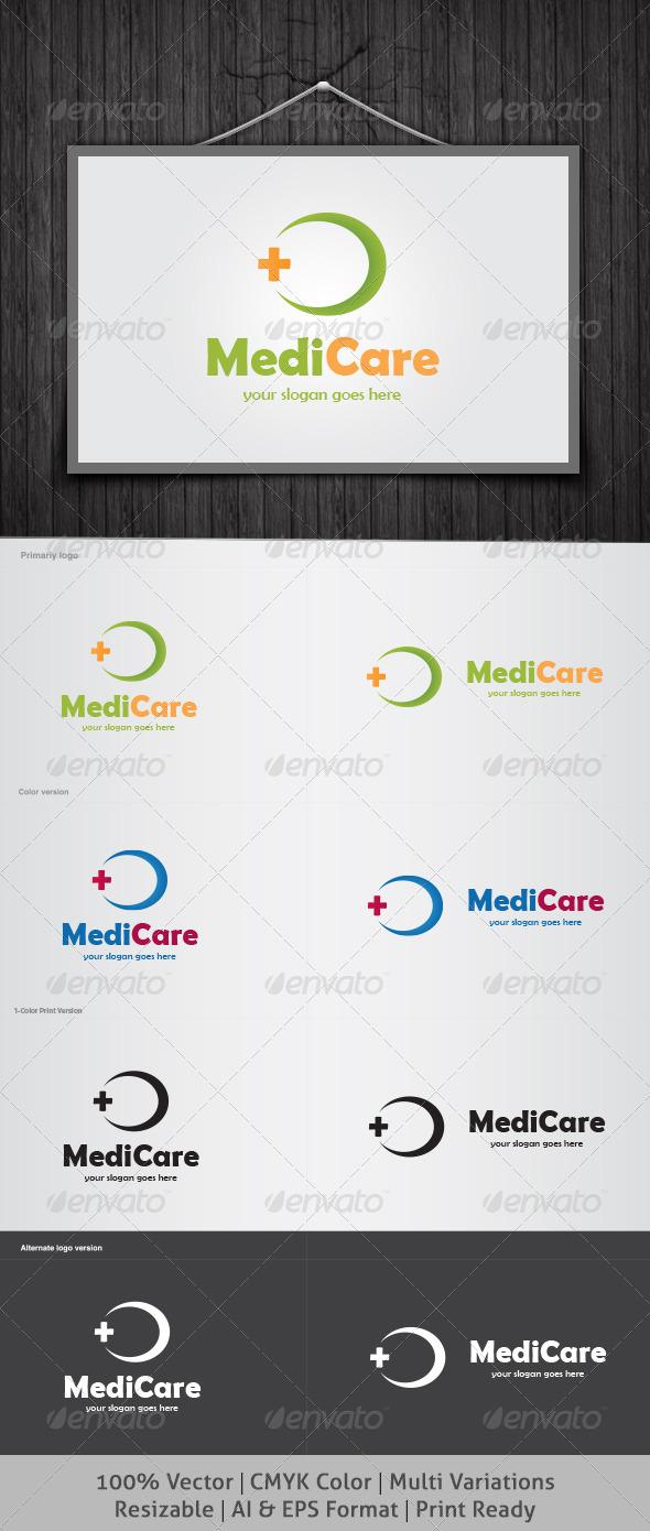 GraphicRiver Medicare Logo 4068217