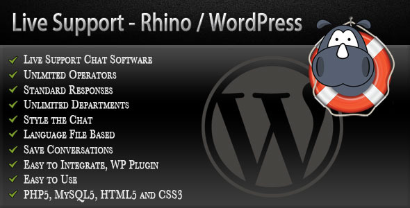 CodeCanyon Rhino Live Support Live Chat 4068335