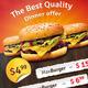 Fast Food Menu Flyer - GraphicRiver Item for Sale