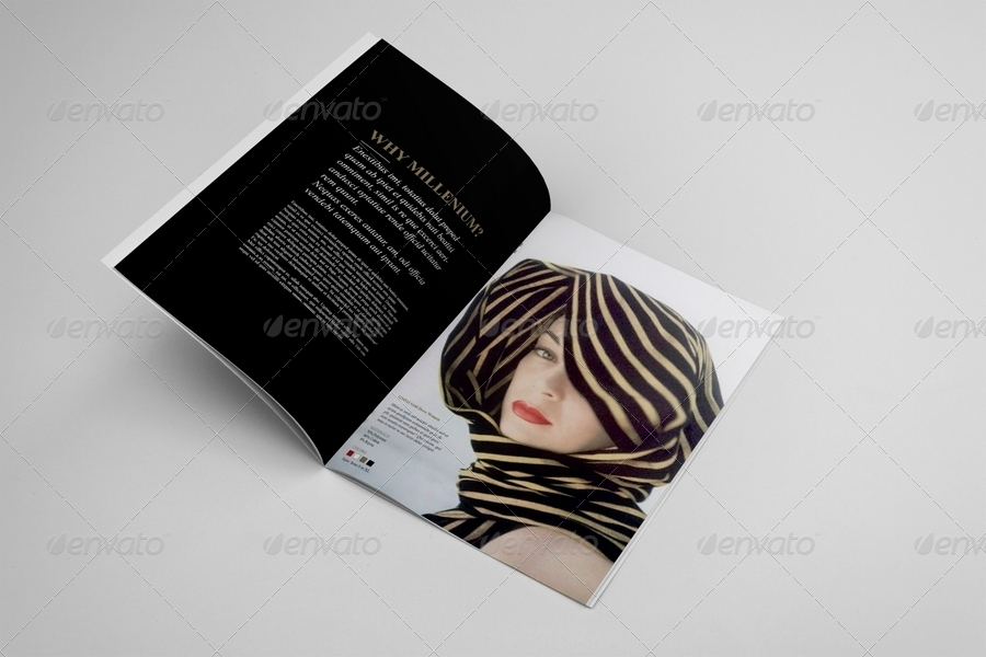 Fashion catalogue brochure template by andre28 for Fashion brochure templates