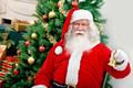 Santa with a Christmas tree - PhotoDune Item for Sale