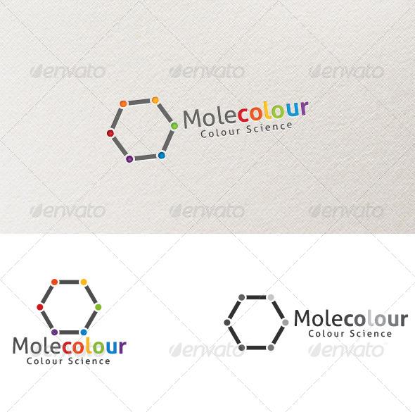 GraphicRiver Molecolour Logo Template 4069195