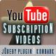 YouTube ಚಂದಾದಾರಿಕೆಯ ವೀಡಿಯೊಗಳು - ವಲ್ಕ್ WorldWideScripts.net ಐಟಂ