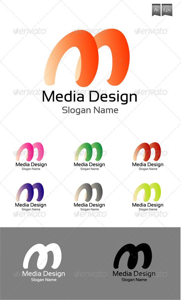 GraphicRiver Media Logo Design 4069393