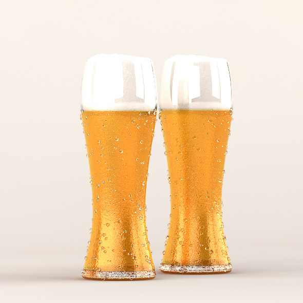 Beer Glass - 3DOcean Item for Sale