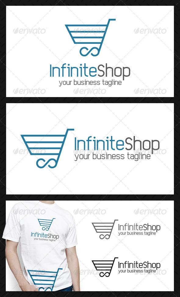 GraphicRiver Infinite Shopping Logo Template 4069418