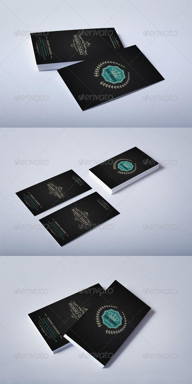 GraphicRiver Luxury Retro Business Card 4069812