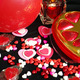 Valentines Candy Candle Hearts Balloon  - PhotoDune Item for Sale