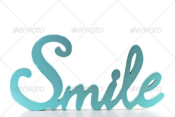 The word Smile - Stock Photo - ImagesThe Word Smile