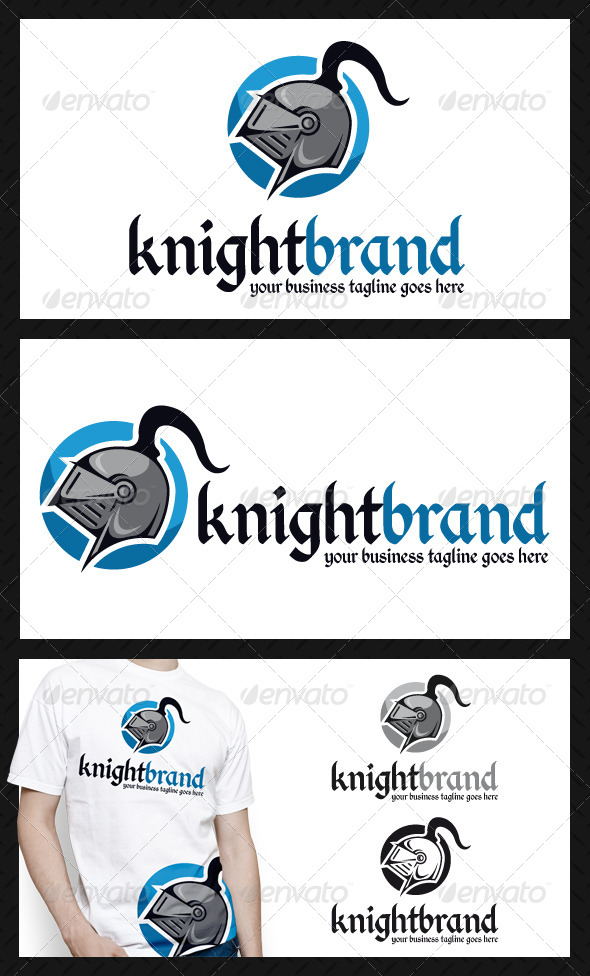 GraphicRiver Knight Logo Template 4071134