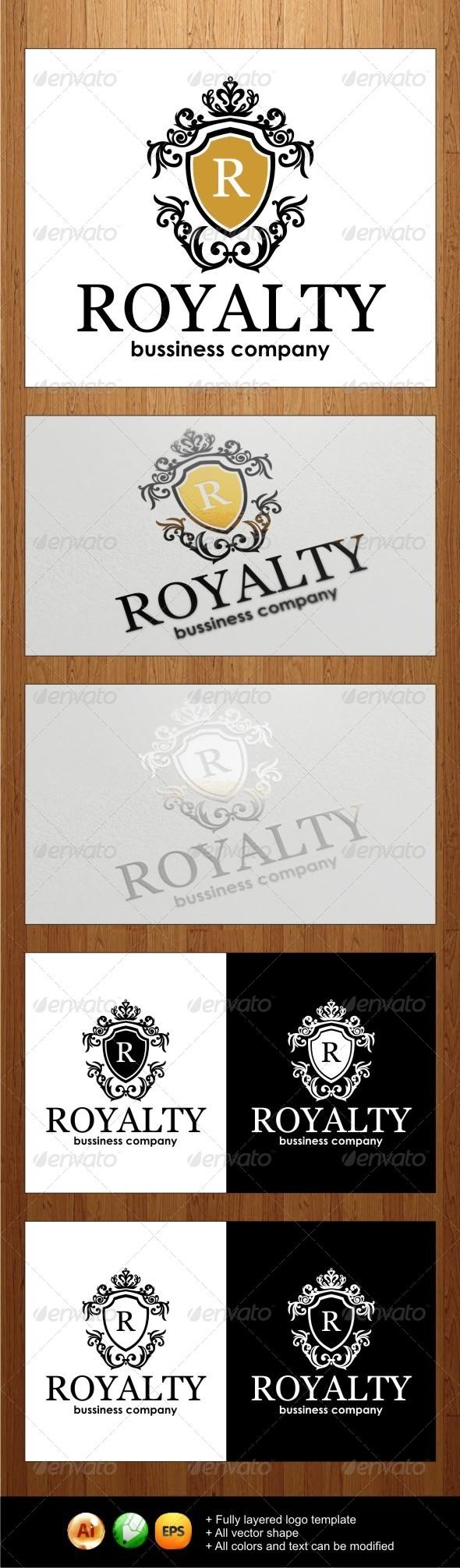 GraphicRiver Royalty Logo 3981191