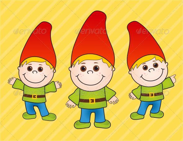 GraphicRiver Boy Gnome 4071222