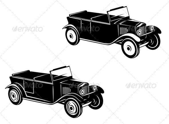 1920 s Retro Car