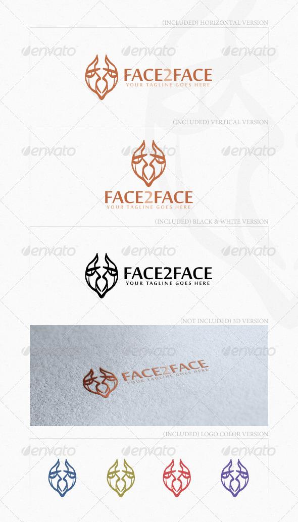 GraphicRiver Face2Face Logo 4014178
