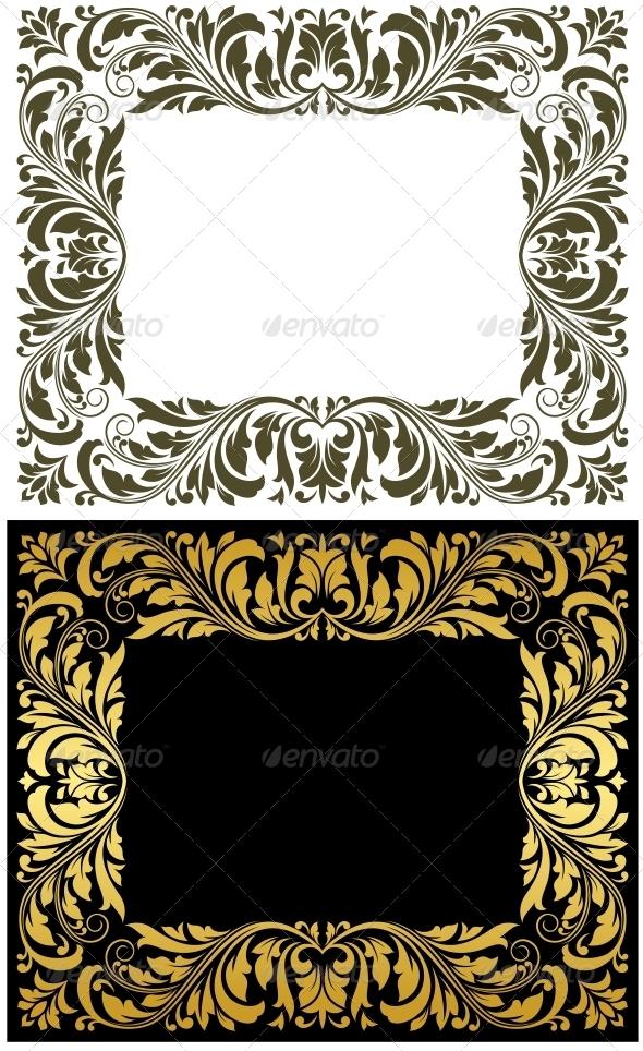 GraphicRiver Retro frames 4071599