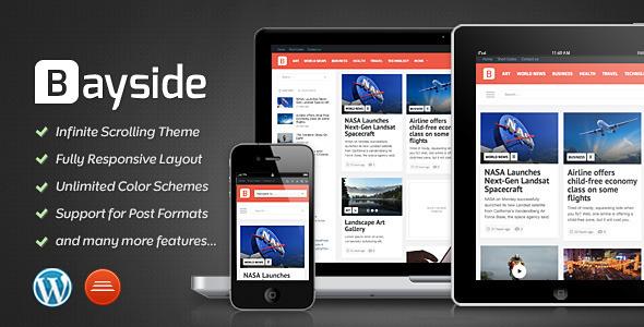 ThemeForest Bayside Responsive WordPress Theme 4071850