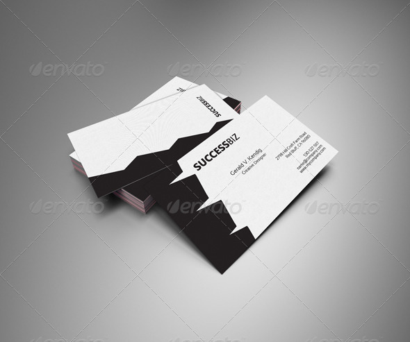 GraphicRiver Corporate Business Cards 4072275