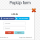 CSS3 PopUp LogIn and SignUp forms