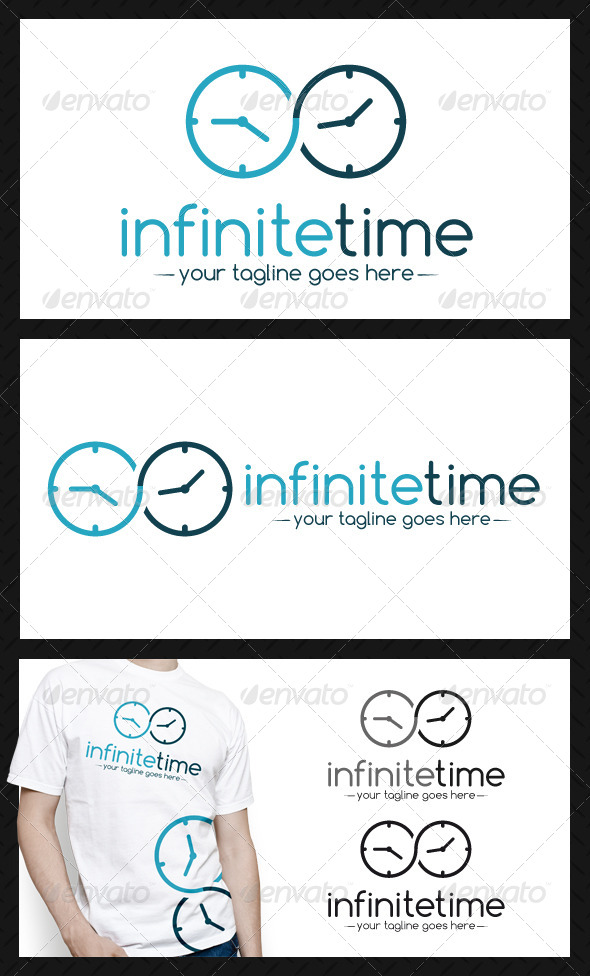GraphicRiver Infinite Time Logo Template 4072887