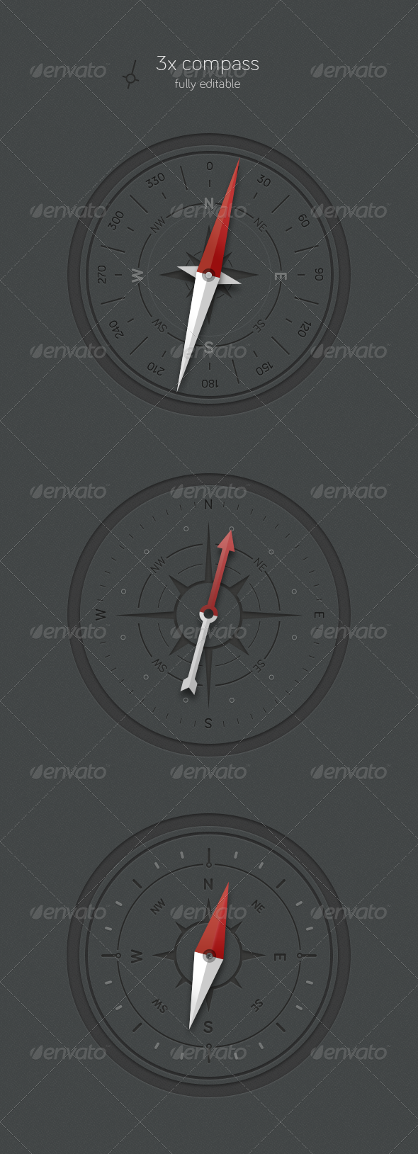GraphicRiver 3x Compass 4072960