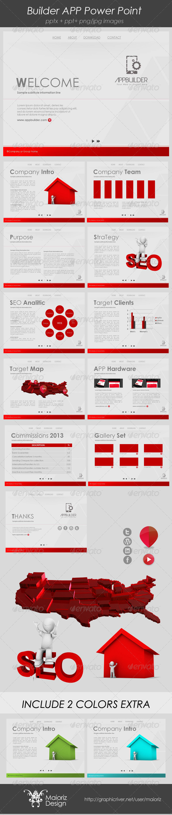 GraphicRiver Developer Dinamic Presentation 3942941