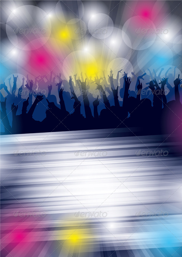 GraphicRiver Dance Party Flyer 4073726