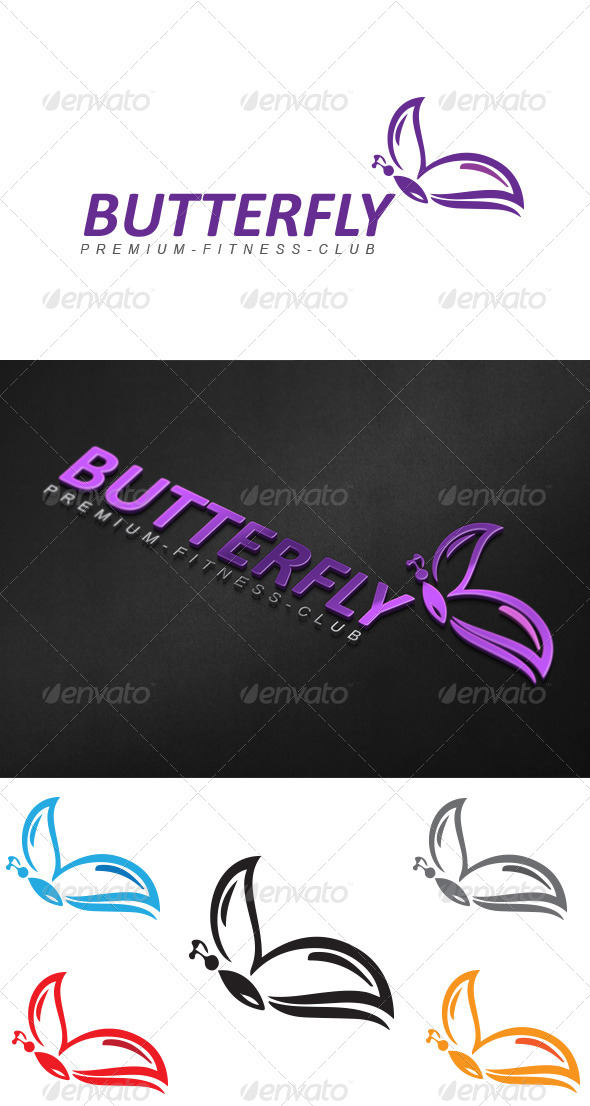 GraphicRiver Butterfly 4017244