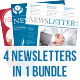 Newsletter Bundle vol. 2 - GraphicRiver Item for Sale