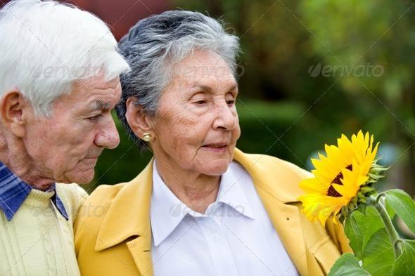 PhotoDune Couple of elder people 440626